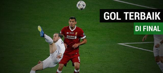 Gol spektakuler yang dicetak Gareth Bale dianggap menjadi yang terbaik sepanjang sejarah Liga Champions.