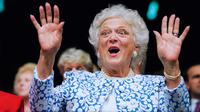 Barbara Bush (AP Photo/Marcy Nighswander, File)
