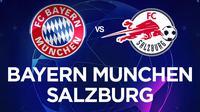 Liga Champions - Bayern Munchen Vs Salzburg (Bola.com/Adreanus Titus)