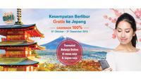 Masih ada 15 e-commerce dengan promo menarik dan penawaran BNI dengan hadiah liburan gratis ke Jepang.