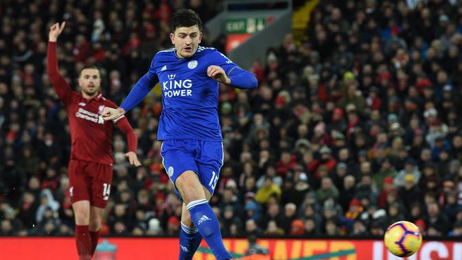 Manchester United dan Manchester City Siap Lupakan Bek Leicester City 5