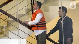Saeful Bahri yang merupakan staf Sekjen PDIP Hasto Kristiyanto akan menjalani pemeriksaan penyidik di Gedung KPK, Jakarta, Senin (27/1/2020). Saeful Bahri diperiksa sebagai tersangka terkait kasus dugaan penerimaan hadiah atau janji penetapan anggota DPR Terpilih 2019-2024. (merdeka.com/Dwi Narwoko)