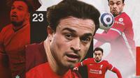 Liverpool - Xherdan Shaqiri (Bola.com/Adreanus Titus)