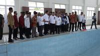 Peresmian dua Loka Rehabilitasi Sosial Korban Penyalahgunaan NAPZA (LRSKPN) dan Loka Rehabilitasi Sosial Orang dengan HIV (LRSODH) di Takalar, Sulawesi Selatan.