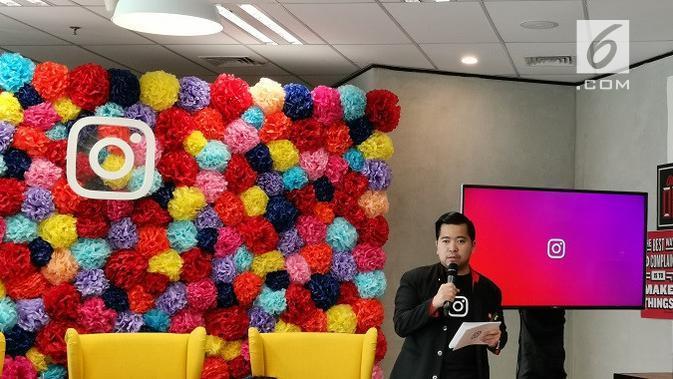 Kepala Bagian Bisnis Berkembang & UKM Facebook dan Instagram, Ferdy Nandes. (Liputan6.com/ Andina Librianty)