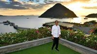 Presiden Jokowi melakukan kunjungan kerja ke Labuan Bajo.