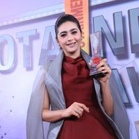 Nabila Syakieb di Infotainment Awards 2017. (Adrian Putra/Bintang.com)