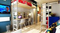 Show unit tipe studio Evenciio Margonda apartemen.