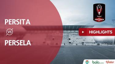 Berita video highlghts Piala Presiden 2019 antara Persita Vs Persela yang berakhir dengan skor akhir 0-2.