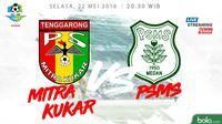 Jadwal Liga 1 2018, Mitra Kukar Vs PSMS Medan. (Dody Iryawan)