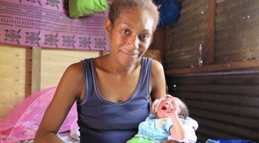 Fenomena Lahirnya Bayi 'Pam' Pascabadai di Vanuatu**********