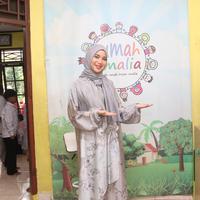 Chaca Frederica mengungkapkan dirinya sudah menyukai kegiatan sosial sejak kecil (Rivan Yuristiawan/Bintang.com)