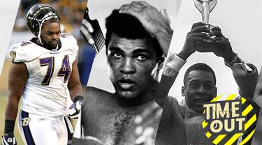 Berita video time out yang membahas tentang lima film yang berlatar belakang kisah kehidupan seorang atlet.
