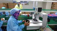 Suasana pabrik Advan di Semarang. Dok: Tommy Kurnia/Liputan6.com