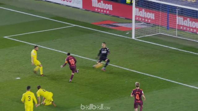 Berita video highlights La Liga, Villareal vs Barcelona 0-2. This video presented by BallBall.