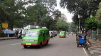 Jalanan Bogor jelang PSBB (Achmad Sudarno/Liputan6.com)
