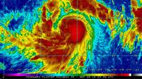 Ilustrasi topan terbentuk (NASA/AP)