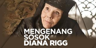 Seperti apa sosok Diana Rigg semasa hidupnya? Yuk, kita cek video di atas!