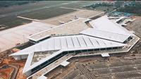 Terminal baru Bandara Internasional Syamsudin Noor di Banjarmasin. (Liputan6.com/Ilyas Istianur Praditya)