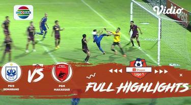 Berita video highlights Shopee Liga 1 2019 antara PSIS Semarang melawan PSM Makassar yang berakhir dengan skor 1-0, Rabu (27/11/2019).