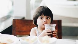 Pada 24 Mei lalu, Sekala genap berusia 3 tahun.(Liputan6.com/IG/sekala_belove_)