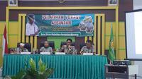 Motivasi diberikan oleh Kepala Badan Penyuluhan dan Pengembangan SDM Pertanian dari Kementerian Pertanian Dedi Nursyamsi .