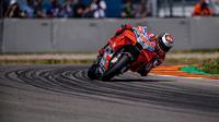 Pembalap Ducati, Jorge Lorenzo akan memulai balapan MotoGP Jerman 2018 dari posisi ketiga. (Twitter/Ducati Motor)