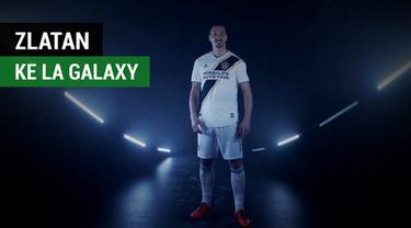 Berita video menarik LA Galaxy resmi memperkenalkan Zlatan Ibrahimovic bersama seekor singa.