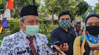Kepala Dinas Pendidikan Kota Depok Mohammad Thamrin. (Liputan6.com/Dicky Agung Prihanto)