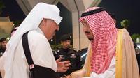 Raja Salman memantau layanan untuk para jemaah haji di Mekah. (SPA)