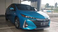 Toyota Prius. (Arief / Liputan6.com)