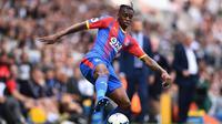 Pemain anyar Manchester United, Aaron Wan Bissaka. (AFP/Glyn Kirk)