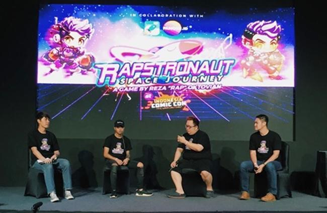 RAPSTRONAUT: The Space Journey, Game Seru Bikinan Reza Oktovian