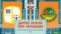 Shopee Liga 1 - Barito Putera Vs Tira Persikabo (Bola.com/Adreanus Titus)