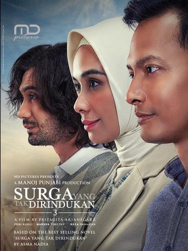 Poster film Surga Yang Tak Dirindukan 3. (Foto: Dok. MD Pictures)
