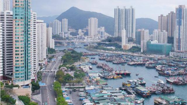Ilustrasi Kantor Hong Kong