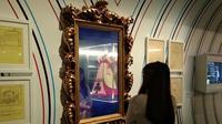 Anda akan menemukan berbagai hal menarik di wahana Wonderland, ArtScience Museum, Singapura (Liputan6.com/Giovani Dio Prasasti)