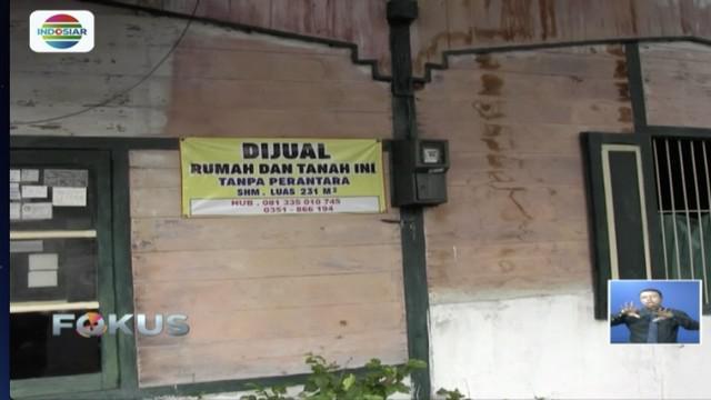 Rumah Sartono, pencipta lagu Hymne Guru, di Madiun, Jawa Timur, akan dijual pihak keluarga.