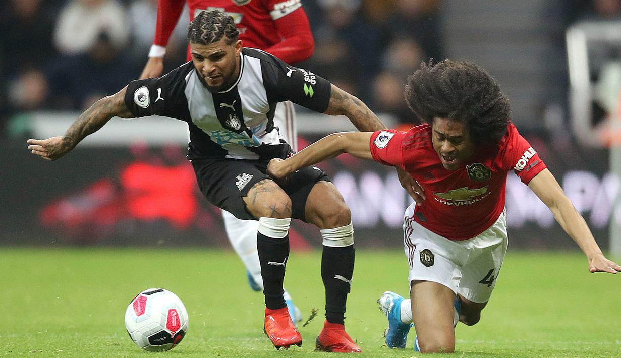 FOTO Newcastle Bungkam Manchester United Bola Liputan6