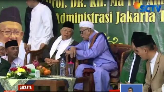 Bertajuk damai untuk negeri, acara ini juga dihadiri para ulama, Pengurus Nadhalatul Ulama dari berbagai daerah, dan masyarakat sekitar khususnya Jakarta Timur.
