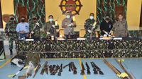 Tim gabungan Polri-TNI menyergap Kelompok Kriminal Bersenjata (KKB), di Kabupaten Timika, Papua yang membuat onar di Bumi Cendrawasih. (dok Polda Papua)