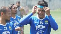Bek Persib Bandung Achmad Jufriyanto. (Liputan6.com/Huyogo Simbolon(