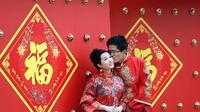 Pengantin di China (bloomberg)