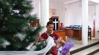 Gereja eks korban bom molotov di Makassar rayakan Natal berbeda di tahun ini (Liputan6.com/ Eka Hakim)