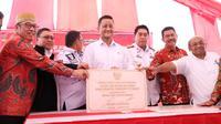 Mensos meresmikan operasionalisasi loka pelayanan untuk rehabilitasi NAPZA dan ODHA di Takalar.