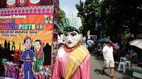 Festival Palang Pintu IX digelar di Jalan Kemang Raya, Jakarta (Liputan6.com/Faizal Fanani)