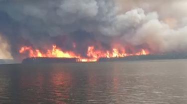 kebakaran hutan di Canada