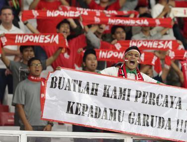 Suporter Sejati Tetap Beri Dukungan Buat Timnas Indonesia