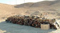 Ilustrasi temuan ranjau anti-tank di Rawah. (Sumber Wikimedia Commons/US Marine Corps)