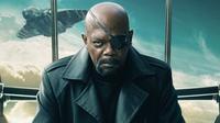 Samuel L. Jackson sebagai Nick Fury. (Via: CinemaBlend)